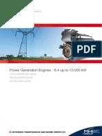 150513 2mitsubishi Power Generation Engines Brochure