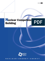 OECD Nuclear Energy Agency Nuclear Competence Building