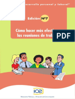 DPL 07 Como Hacer Más Efectivas Las Reuniones de Trabajo