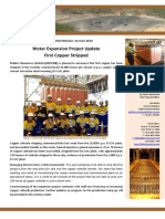 First Copper Stripped at Wetar Expansion Project