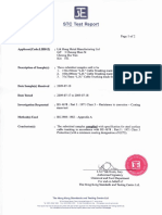 Cable Trunking_Test Report