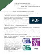 Normativa Nacionales e Internacionales