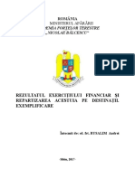 rezultatul exercitiului financiar.docx
