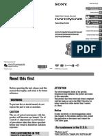 Sony Handycam 403E Operating Guide 119pp