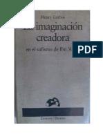 Corbin Henry - La Imaginacion Creadora En El Sufismo De Ibn Arabi.pdf