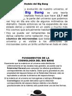 Modelo Del Big Bang Al Hombre 2011%2c Evolución