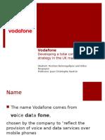Vodafone Value Chain