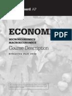 AP Macro-Micro Course Description