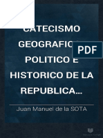 De LA SOTA. Catecismo Geografico Politico e Historico de La Rou