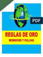 9° - Reglas Oro - Workover y Pulling I