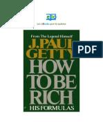 como hacerse rico