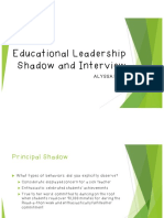 principal shadow and interview