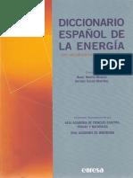 Diccionario Español de la Energía, con Vocabulario Inglés-español Fundación Gas Natural 2003