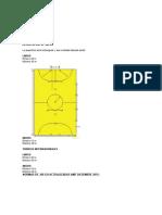 Reglamento Federacion de Futbol de Salon