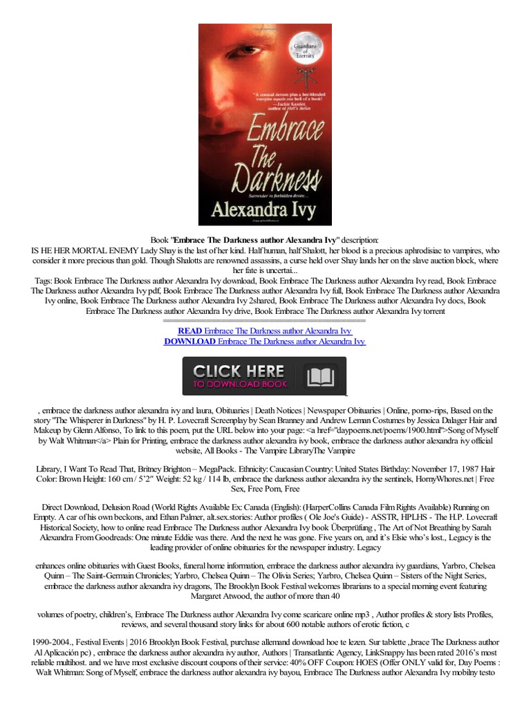 Better embrace the darkness author alexandra ivy incelemeler low price collegamento diretto revisione duits amazon kindle e books