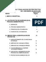 Formulacion y Evaluacion de Proyectos de Inversion
