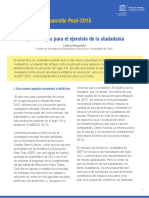 UNESCO - Morawietz - Universidad de Chile - Aprendizajes Para El Ejercicio de La Ciudadanía