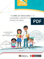 Cartilla Bienvenida Comunidad Educativa Reiniciodeclases