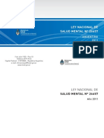 Ley Nacional 26657