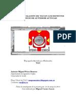 Guía de Instalación de Tao en Los Distintos Entornos de Autodesk Autocad