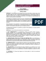 Ley de Procedimiento Administrativo de Qroo