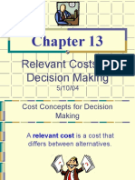 Garch13 Relevant Cost
