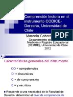 Marcela Cabrera COLMEE2012