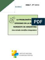 La Problemática Del Ofidismo en La Región Nordeste de Argentina