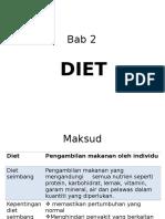 Ert- Bab 2 diet