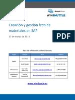 Winshuttle Creacion y Gestion Lean de Materiales en SAP QA