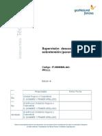 Supervisión - Procedimiento Cambio e Instalación de Descargadores de Sobretensión