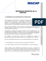 Sistema de Mantencion Preventiva en La Industria