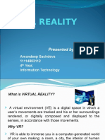 Seminar Presentation VR Amandeep Sachdeva