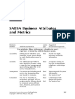 SABSA Business Attributes