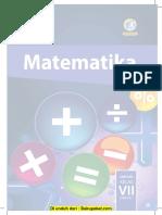 Buku Matematika Kelas 7 Revisi 2016 Semester 2