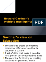 Week 3 Howard Gardner-s