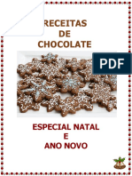Livro Com Chocolate Especial Natal