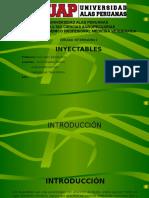 diapositivas inyectables