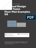 Section 5 Universal Design Home Types Floor Plan Examples