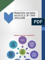 Ponenciad s n 040-2014-Em Aspectos Sociales