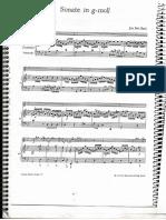 Sonata para flauta BWV 1020