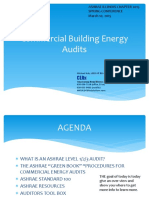 Ashrae energy Audits