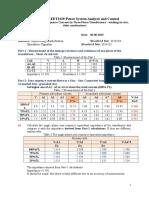 Lab Report_4_Distribution Network Voltage Control
