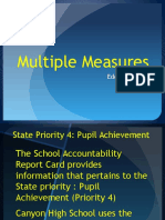 espinosa multiple measures power point