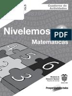 Matematicas Cuaderno de Actividades 1