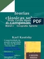Campesinato - Teorias Kautsky.ppt