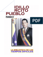Ceresole Norberto - Caudillo Ejército Pueblo