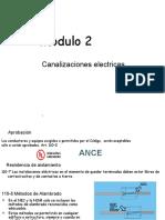 7. Canalizaciones y Cableados Inst. Electricas NOM 001 SEDE 2012