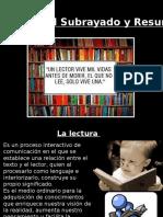 5.Lectura, Subrrayado y Resumen