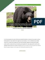 final wildlife management project